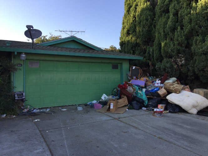 Union City hoarder house
