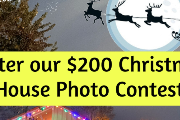 Our $200 Christmas 2019 House Photo Contest!